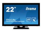 "Moniteur IIYAMA iiyama ProLite T2236MSC-B2AG - écran LED - Full HD (1080p) - 21.5"""