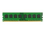 Mémoire vive PC KINGSTON Kingston - DDR3 - module - 4 Go - DIMM 240 broches - 1600 MHz / PC3-12800 - mémoire sans tampon