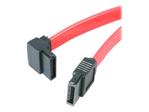 Câble & nappe StarTech.com Câble Serial ATA (SATA) vers SATA à angle gauche 30 cm
