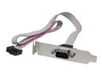 Câble et adaptateur série StarTech.com Plaque série faible encombrement 16pouces