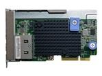 Serveur Tour LENOVO Lenovo ThinkSystem - adaptateur réseau - LAN-on-motherboard (LOM) - 10Gb Ethernet x 2