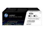 Toner HP HP 410X - pack de 2 - à rendement élevé - noir - originale - LaserJet - cartouche de toner (CF410XD)
