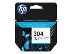 Cartouche d'encre HP HP 304 - couleur (cyan, magenta, jaune) - originale - cartouche d'encre