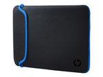 HP 15.6 Blk/Blue Chroma Sleeve