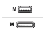 Câble USB ZEBRA Zebra Câble USB de type-C