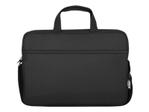 "Sacoche, malette & housse URBAN FACTORY Urban Factory Nylee Toploading Laptop Bag 14.1"" Black sacoche pour ordinateur portable"