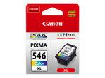 Cartouche d'encre CANON Canon CL-546XL - à rendement élevé - couleur (cyan, magenta, jaune) - originale - cartouche d'encre