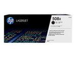 Toner HP HP 508X - à rendement élevé - noir - originale - LaserJet - cartouche de toner (CF360X)