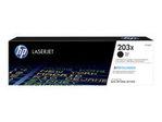 Toner HP HP 203X - à rendement élevé - noir - originale - LaserJet - cartouche de toner (CF540X)
