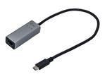 Carte réseau USB ITEC  i-tec i-Tec USB-C Metal Gigabit Ethernet Adapter - adaptateur réseau - USB-C 3.1 - Gigabit Ethernet x 1
