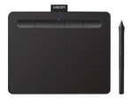 Tablette Graphique WACOM Wacom Intuos Creative Pen Small - numériseur - USB, Bluetooth - noir