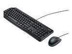 Logitech Desktop MK120 - ensemble clavier et...