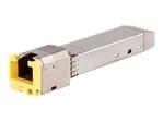 Divers accessoires réseau Aruba Networks HPE Aruba Cat6A - module transmetteur SFP+ - 10 GigE