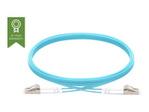 Fibre optique VISION Vision Techconnect - câble réseau - 2 m - bleu clair