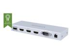 Switch vidéo VISION Vision Techconnect TC-HDMI31 - commutateur vidéo/audio - 3 ports