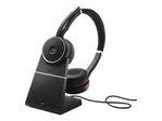 Casque audio JABRA Jabra Evolve 75 MS Stereo - micro-casque - avec support de chargement