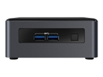 Barebone INTEL Intel Next Unit of Computing Kit NUC7i3DNHNC - mini PC - Core i3 7100U 2.4 GHz - 4 Go - HDD 1 To