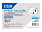 Etiquette et adhésif EPSON Epson Premium - Étiquettes en forme découpée - mat - 650 étiquette(s) - 102 x 51 mm