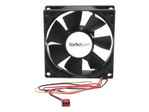 Ventilateur StarTech.com Ventilateur PC à Double Roulement à Billes - Alimentation TX3 - 80 mm - 1x Molex TX3 Femelle
