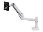 Support écran ERGOTRON Ergotron LX Desk Monitor Arm - kit de montage