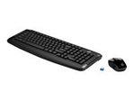 HP Wireless Keyboard & Mouse 300 FR