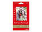 Papier standard CANON Canon Photo Paper Plus Glossy II PP-201 - papier photo - 50 feuille(s) - 100 x 150 mm - 260 g/m²