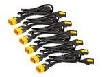 Power Cord Kit 6 ea Locking C13 to C