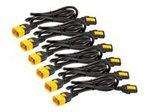 Power Cord Kit 6 ea Locking C13 to C14