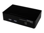 KVM StarTech.com Commutateur KVM 2 Ports DisplayPort® USB et Audio - Switch KVM - 3x DisplayPort - 6x 3.5 mm - 4x USB A - 2x USB B - 2560x1600