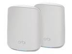 Routeur WiFi NETGEAR NETGEAR Orbi RBK352 - système Wi-Fi - 802.11a/b/g/n/ac/ax - de bureau