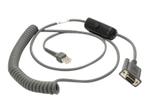 Câble et adaptateur série ZEBRA Zebra câble série - 2.74 m
