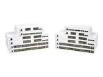 Switch gigabit CISCO Cisco Business 350 Series CBS350-8P-E-2G - commutateur - 10 ports - Géré - Montable sur rack