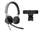 Casque audio LOGITECH Logitech Wired Personal Video Collaboration Kit - kit de vidéo-conférence