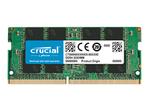 Mémoire vive petit format Crucial Crucial - DDR4 - module - 4 Go - SO DIMM 260 broches - 2666 MHz / PC4-21300 - mémoire sans tampon