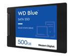 Disque dur HDD WESTERN DIGITAL WD Blue 3D NAND SATA SSD WDS500G2B0A - Disque SSD - 500 Go - SATA 6Gb/s