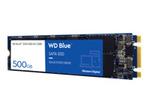 Disque dur HDD WESTERN DIGITAL WD Blue 3D NAND SATA SSD WDS500G2B0B - Disque SSD - 500 Go - SATA 6Gb/s