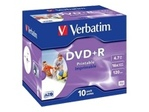 CD/DVD VERBATIM Verbatim DataLifePlus - DVD+R x 10 - 4.7 Go - support de stockage