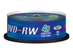 CD/DVD VERBATIM Verbatim - DVD-RW x 25 - 4.7 Go - support de stockage