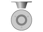 Antenne WiFi CISCO Cisco Multiband In-Building Omnidirectional Ceiling-Mount Antenna - antenne