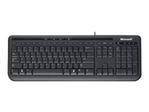 Clavier MICROSOFT Microsoft Wired Keyboard 600 - clavier - Français - noir