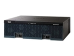 Routeur Soho CISCO Cisco 3925 Voice Bundle - routeur - module voix/fax - de bureau, Montable sur rack