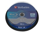 Blu-ray VERBATIM Verbatim - BD-R x 10 - 25 Go - support de stockage