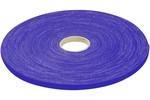 Cache câble MCAD Rouleau de lien auto-agrippant largeur 10 mm - bleu - 20 m