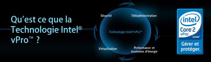 Qu'est ce que la Technologie Intel® vPro™ ?