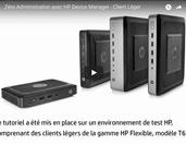Comment mettre en œuvre un client léger zéro administration avec HP Device Manager ?