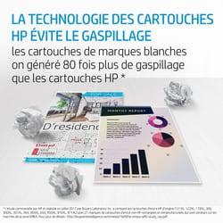 consommable et encre HP évite le gaspillage