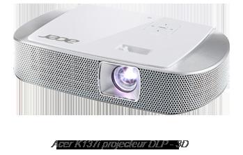 Acer K137i projecteur DLP - 3D