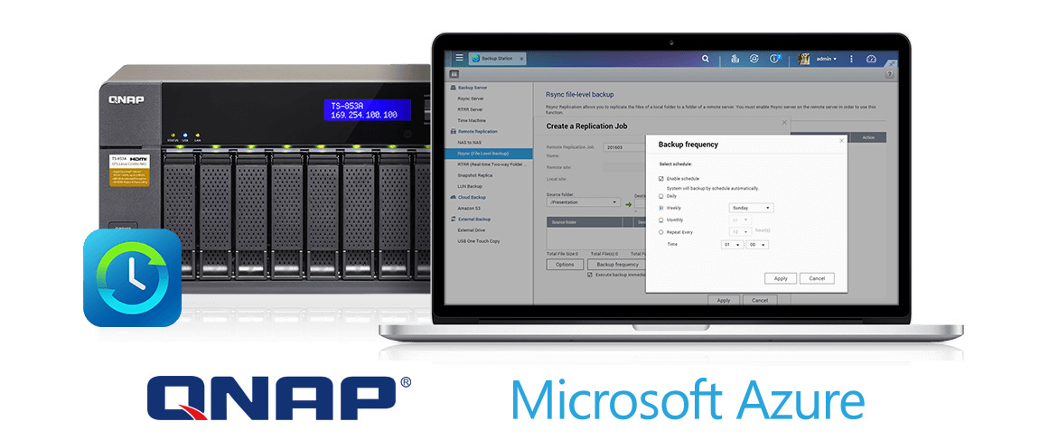 Allez plus loin dans la sécurisation de vos données avec Microsoft et QNAP