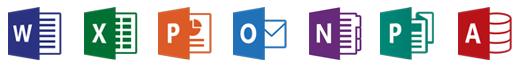 les nouveaux logiciels Office 2016