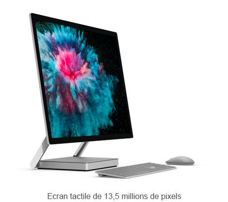 Ecran tactile de 13,5 millions de pixels